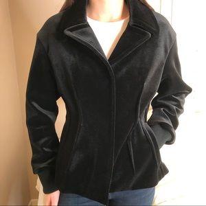 2 LEFT S M Figure Flattering Black Blazer Jacket
